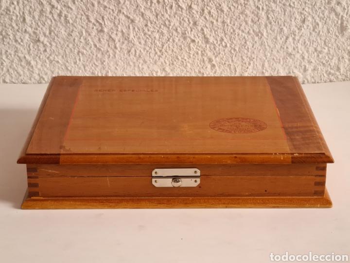 Cajas de Puros: Caja vacía La Escepción José Gener Habana Vegas Majagua Monterrey Puro Habanos Gener Especiales Cuba - Foto 2 - 278035408