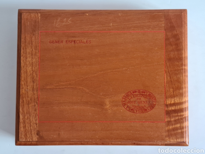 Cajas de Puros: Caja vacía La Escepción José Gener Habana Vegas Majagua Monterrey Puro Habanos Gener Especiales Cuba - Foto 3 - 278035408