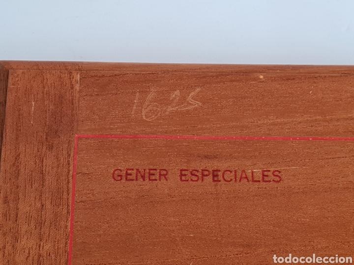 Cajas de Puros: Caja vacía La Escepción José Gener Habana Vegas Majagua Monterrey Puro Habanos Gener Especiales Cuba - Foto 5 - 278035408