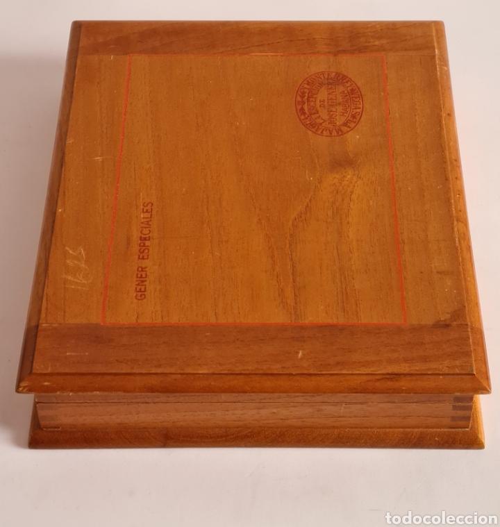 Cajas de Puros: Caja vacía La Escepción José Gener Habana Vegas Majagua Monterrey Puro Habanos Gener Especiales Cuba - Foto 6 - 278035408