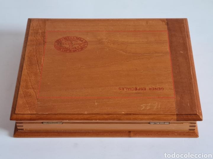 Cajas de Puros: Caja vacía La Escepción José Gener Habana Vegas Majagua Monterrey Puro Habanos Gener Especiales Cuba - Foto 9 - 278035408
