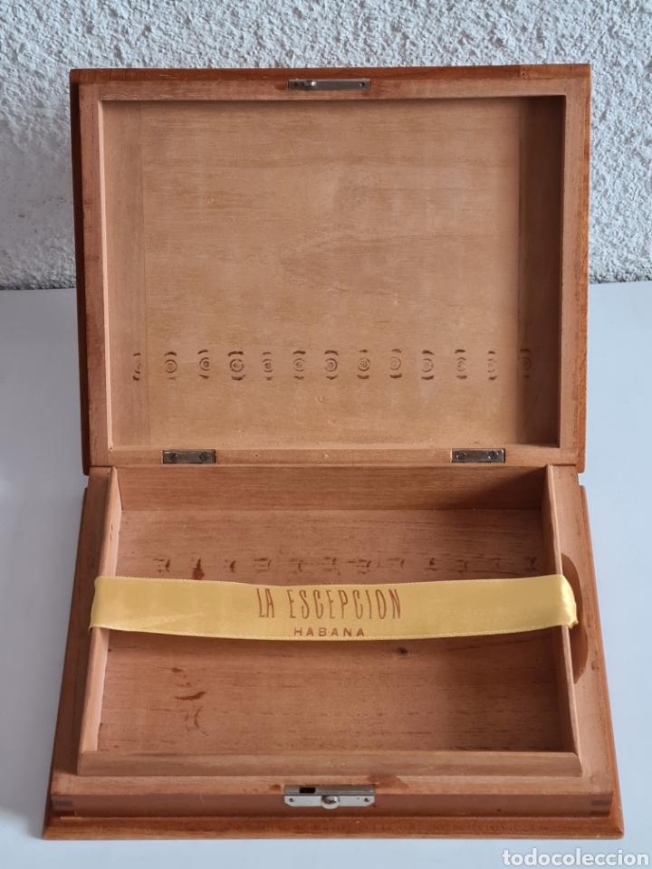 Cajas de Puros: Caja vacía La Escepción José Gener Habana Vegas Majagua Monterrey Puro Habanos Gener Especiales Cuba - Foto 15 - 278035408