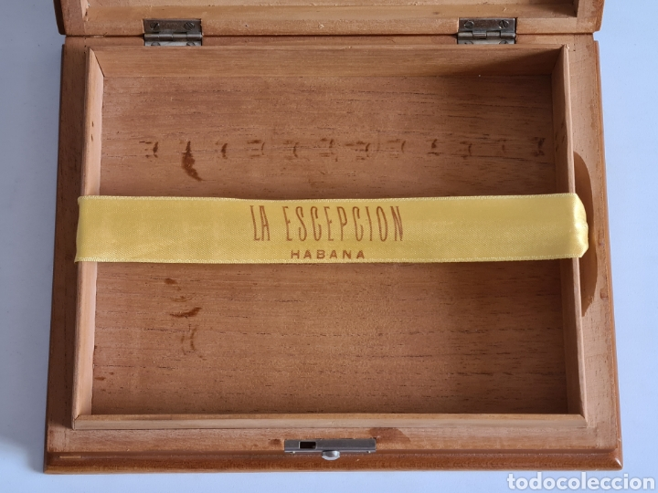 Cajas de Puros: Caja vacía La Escepción José Gener Habana Vegas Majagua Monterrey Puro Habanos Gener Especiales Cuba - Foto 16 - 278035408