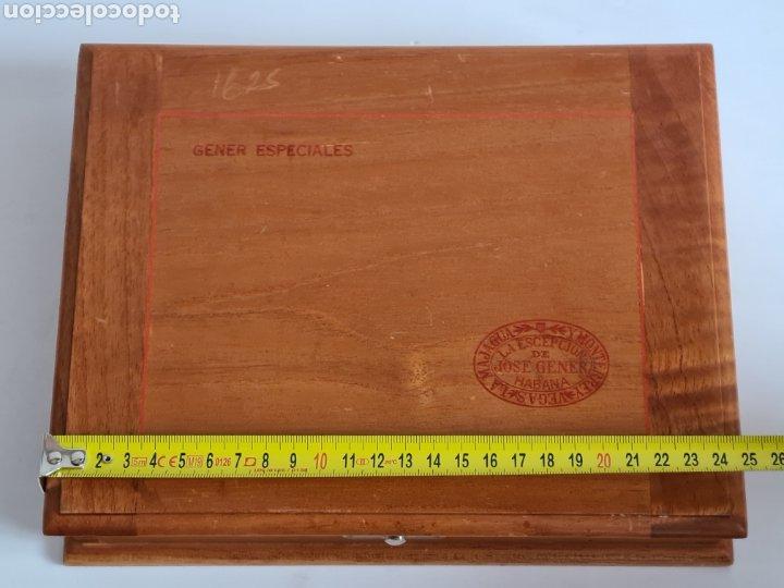Cajas de Puros: Caja vacía La Escepción José Gener Habana Vegas Majagua Monterrey Puro Habanos Gener Especiales Cuba - Foto 21 - 278035408