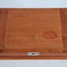 Cajas de Puros: CAJA VACÍA LA ESCEPCIÓN JOSÉ GENER HABANA VEGAS MAJAGUA MONTERREY PURO HABANOS GENER ESPECIALES CUBA. Lote 278035408