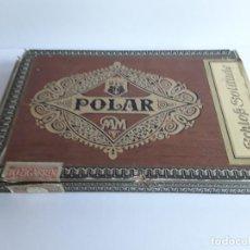 Cajas de Puros: CAJA DE PUROS VACÍA. ALEMANIA, HACÍA 1940. POLAR, SCHLOSS SOLITUDE, 10 ZIGARREN.. Lote 278348308