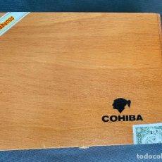 Cajas de Puros: CAJA DE PUROS COHIBA , SELLADA . HABANOS , 25 ESPLÉNDIDOS , CUBA. Lote 278600188