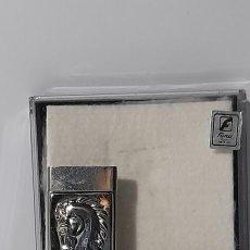 Cajas de Puros: CORTA PUROS EN PLATA DE LEY FIRMADO CAJA ORIGINAL. Lote 278844348
