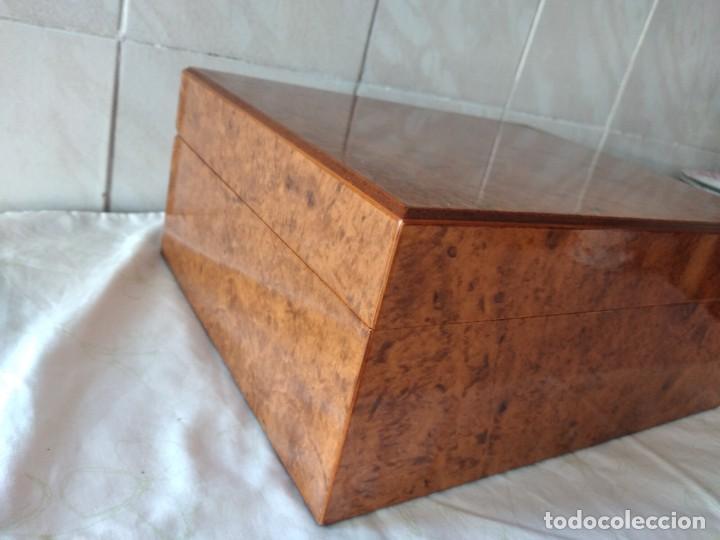 Cajas de Puros: humidificador de puros guy janot, madera de raíz . - Foto 3 - 284443863