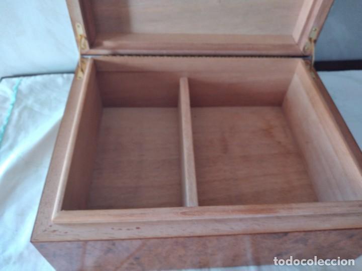 Cajas de Puros: humidificador de puros guy janot, madera de raíz . - Foto 5 - 284443863