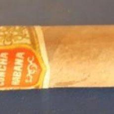 Cajas de Puros: (TA-210900)ANTIGUO PURO PRECINTADO BANDERA DE ESPAÑA CONCHA - HABANA (CUBA). Lote 286614463