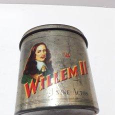 Cajas de Puros: WILLEM II. ENTRE ACTOS. 50 CIGARRILLOS. HABANA MELANGE. CAJA METÁLICA VACÍA.. Lote 287337848