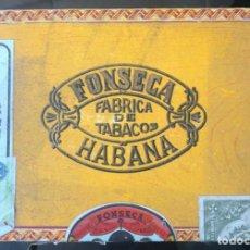 Cajas de Puros: CAJA PUROS HABANOS - FONSECA - VACIA - HABANA, CUBA. Lote 288023713