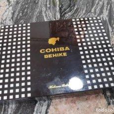 Cajas de Puros: CAJA VACÍA DE PUROS COHIBA BEHIKE CUBA----REF-IS. Lote 288476088