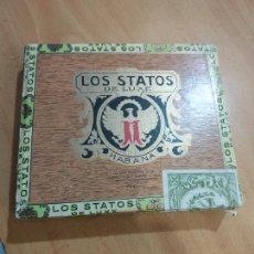 Cajas de Puros: LOS STATOS DE LUXE HABANA CUBA. Lote 288531113