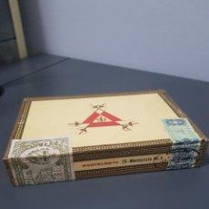 Zigarrenkisten: ANTIGUA CAJA DE PUROS MONTECRISTO HABANA COMPLETA SIN ABRIR CUBA. Lote 288706513