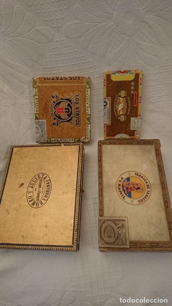 CAJAS VACÍAS DE PUROS (Coleccionismo - Objetos para Fumar - Cajas de Puros)