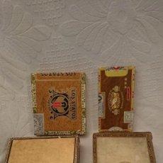 Cajas de Puros: CAJAS VACÍAS DE PUROS. Lote 290017563