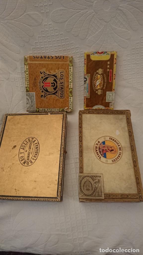Cajas de Puros: CAJAS VACÍAS DE PUROS - Foto 2 - 290017563