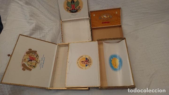 Cajas de Puros: CAJAS VACÍAS DE PUROS - Foto 3 - 290017563