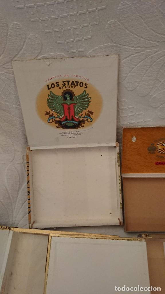Cajas de Puros: CAJAS VACÍAS DE PUROS - Foto 4 - 290017563