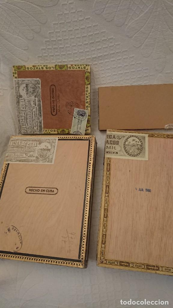 Cajas de Puros: CAJAS VACÍAS DE PUROS - Foto 5 - 290017563