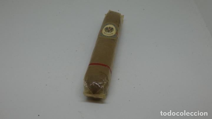 1 PURO LEICHT . OSTERREICH . CON PRECINTO (Coleccionismo - Objetos para Fumar - Cajas de Puros)