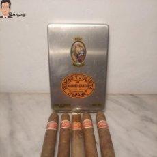 Cajas de Puros: CAJA COMPLETA DE PUROS HABANOS ROMEO Y JULIETA (LA HABANA, CUBA) + 20 VITOLAS REGALO. Lote 290849808