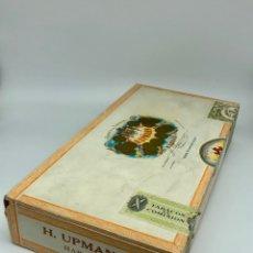 Cajas de Puros: H.UPMANN CORONAS MAJOR 25 HABANA CUBA CAJA CON PUROS PRECINTADA SIN ABRIR. Lote 292361028