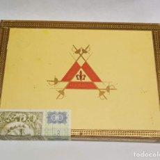 Cajas de Puros: CAJA DE PUROS MONTECRISTO HABANA - 25 MONTECRISTO N.º 3. COMPLETA SIN ABRIR.. Lote 295701843