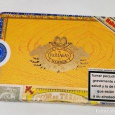 Cajas de Puros: CAJA DE PUROS FLOR DE TABACOS DE PARTAGAS HABANA - 25 HABANEROS - CAJA ABIERTA PERO COMPLETA.. Lote 295702928