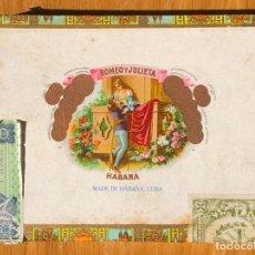 Cajas de Puros: CAJA DE PUROS COMPLETA - ROMEO Y JULIETA - HABANOS, CUBA. Lote 297026993