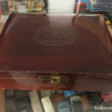 Cajas de Puros: ANTIGUA CAJA PUROS VACIA JOSE GENER LA HABANA LA ESCEPCION LA MAJAGUA Y MONTEREY VEGAS. Lote 297052663