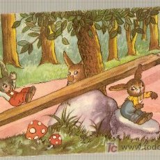 Coleccionismo Recortables: SOBRE DESPLEGABLE ANIMALES BOSQUE. 12 X 24 CM.. Lote 16333967