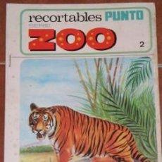 Coleccionismo Recortables: RECORTABLES PUNTO SERIE ZOO. Lote 27231434