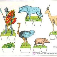 Coleccionismo Recortables: RECORTABLE EDITORIAL ROMA RECORTES BABY SERIE ANIMALES 5. Lote 4086975