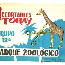 Collectables Paper Dolls - Cuaderno Recortables Toray Parque Zoologico Grupo 12 1962 16 páginas 2 series - 11124092