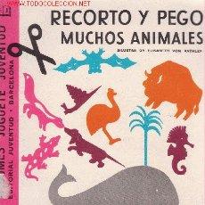 Collectables Paper Dolls - RECORTO Y PEGO MUCHOS ANIMALES. Albumes Juguete Juventud. Totalmente nuevo con sus laminas incluidas - 27300398