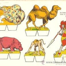 Coleccionismo Recortables: RECORTABLE BABY SERIE ANIMALES Nº 1 . Lote 14390674