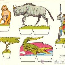 Coleccionismo Recortables: RECORTABLE BABY SERIE ANIMALES Nº 2. Lote 14390740