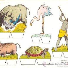 Coleccionismo Recortables: RECORTABLE BABY SERIE ANIMALES Nº 4. Lote 14390819