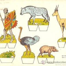 Coleccionismo Recortables: RECORTABLE BABY SERIE ANIMALES Nº 5. Lote 14390859