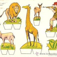 Coleccionismo Recortables: RECORTABLE BABY SERIE ANIMALES Nº 7. Lote 14390984