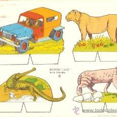 Coleccionismo Recortables: RECORTABLE BABY SERIE ANIMALES Nº 8. Lote 14391048