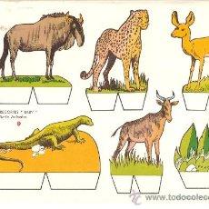 Coleccionismo Recortables: RECORTABLE BABY SERIE ANIMALES Nº 9. Lote 14391053