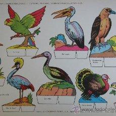 Coleccionismo Recortables: RECORTABLES TORAY - PARQUE ZOOLOGICO Nº 114 - ORIGINAL 1962. Lote 27104198