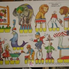 Coleccionismo Recortables: LAMINA DE RECORTABLES KIKI - LOLO ESCENAS INFANTILES 2. Lote 25478090