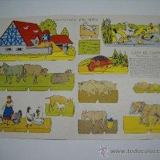 Collectables Paper Dolls - RECORTABLE COL. BILLIKEN . CASA DE CAMPO . 45X30 . DE LA REVISTA ARGENTINA BILLIKEN - 18193203