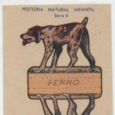 Coleccionismo Recortables: ANIMALES PLEGABLES. PERRO. (12X8) HISTORIA NATURAL INFANTIL.. Lote 19839374