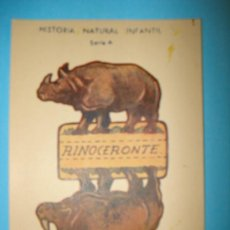 Coleccionismo Recortables: RECORTABLE ANIMALES PLEGABLES - SERIE A - MEDIDAS 12 X 8 CM. Lote 19985312